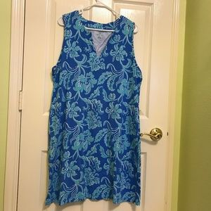 A summer dress size L in good condition
